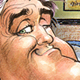 Jay Leno illustration
